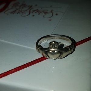 925 Sterling silver Irish Gladdagh Ring